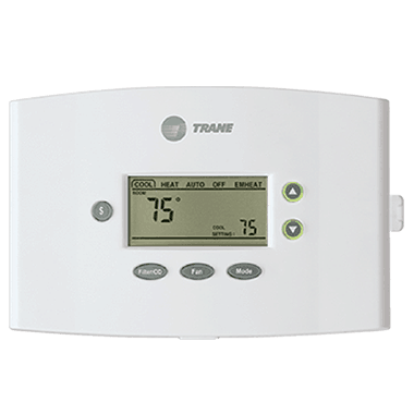 Trane XR401 thermostat.
