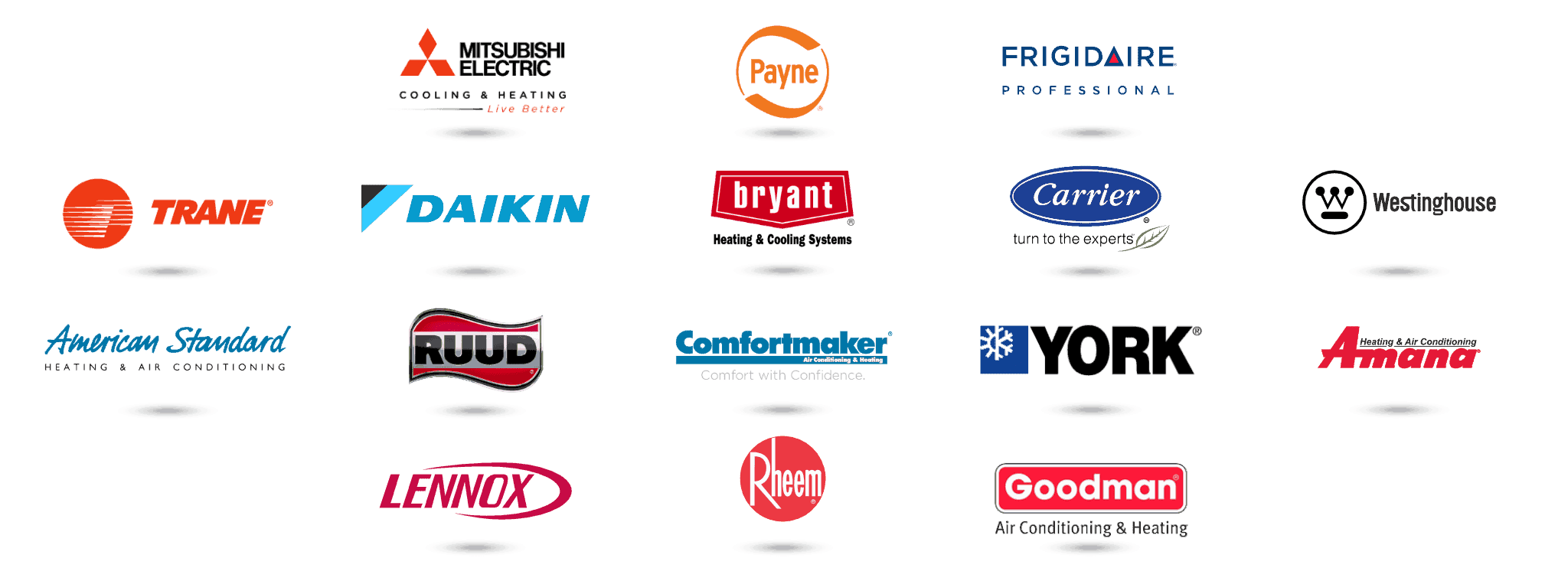 We service all HVAC brands.